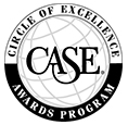 CASE Circle of Excellence Awards Program logo